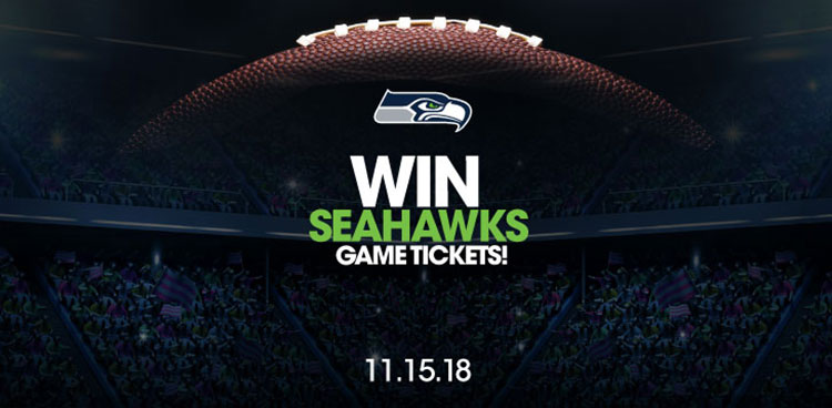 Win Seahawks Game Tickets!