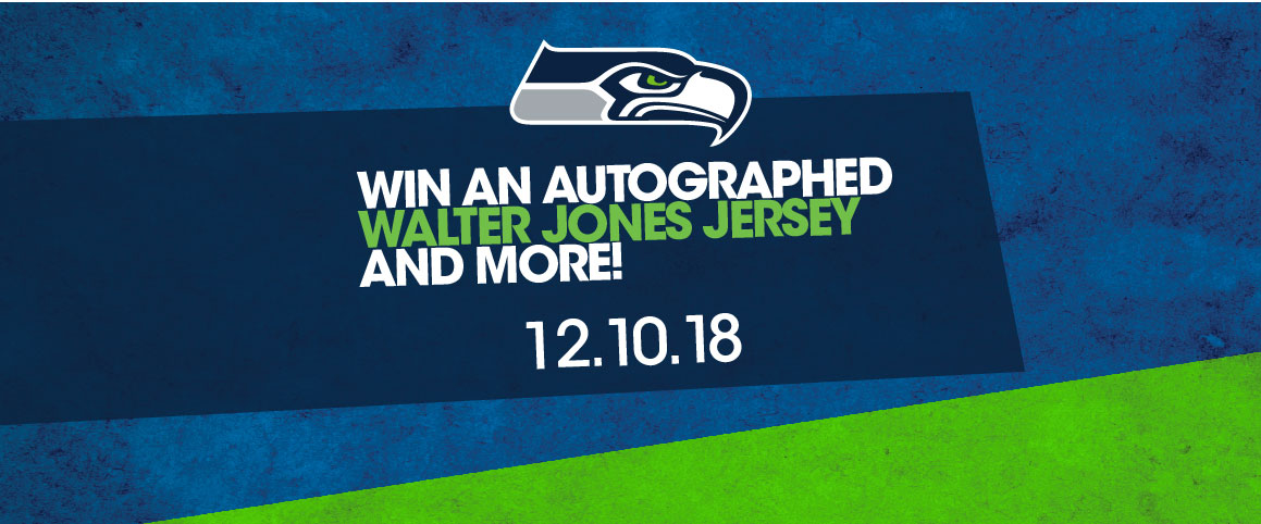 Win an Autographed Walter Jones Jersey and More!
