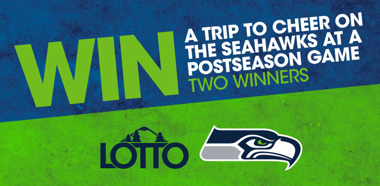 WIn a Trip to Cheer on the Seahawks at a Postseason Game*