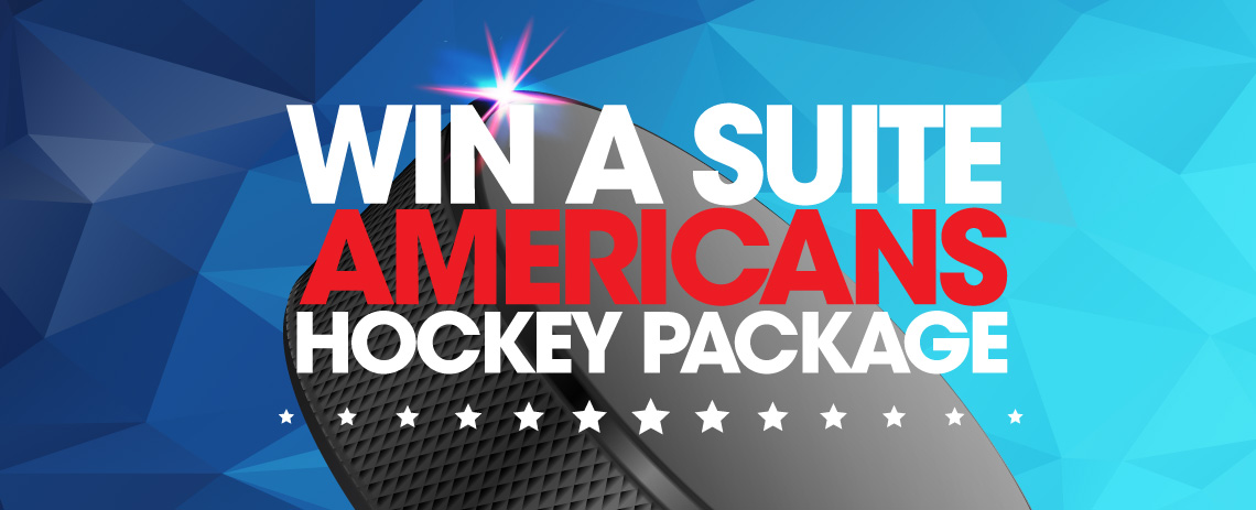 Win a Suite Americans Hockey Package