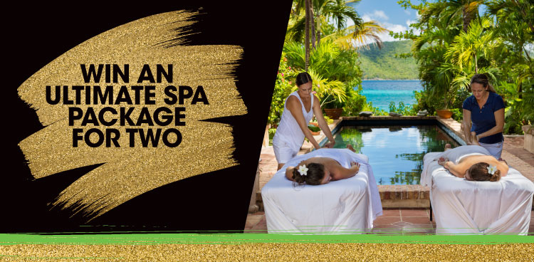 Win an Ultimate Spa Package for Two
