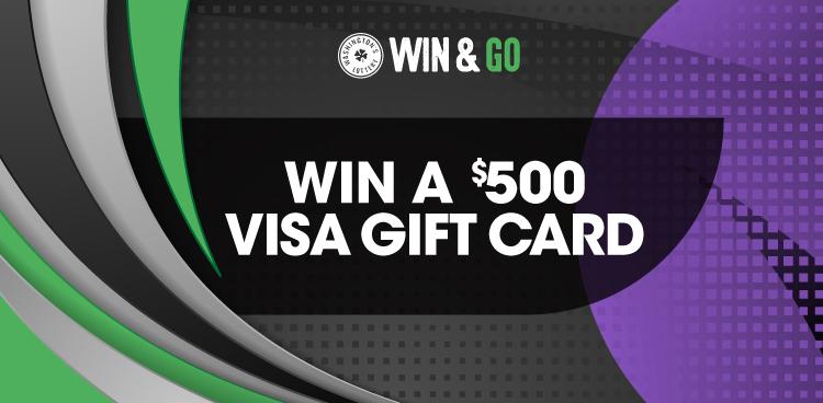 Win & Go - Win a $500 Visa Gift Card