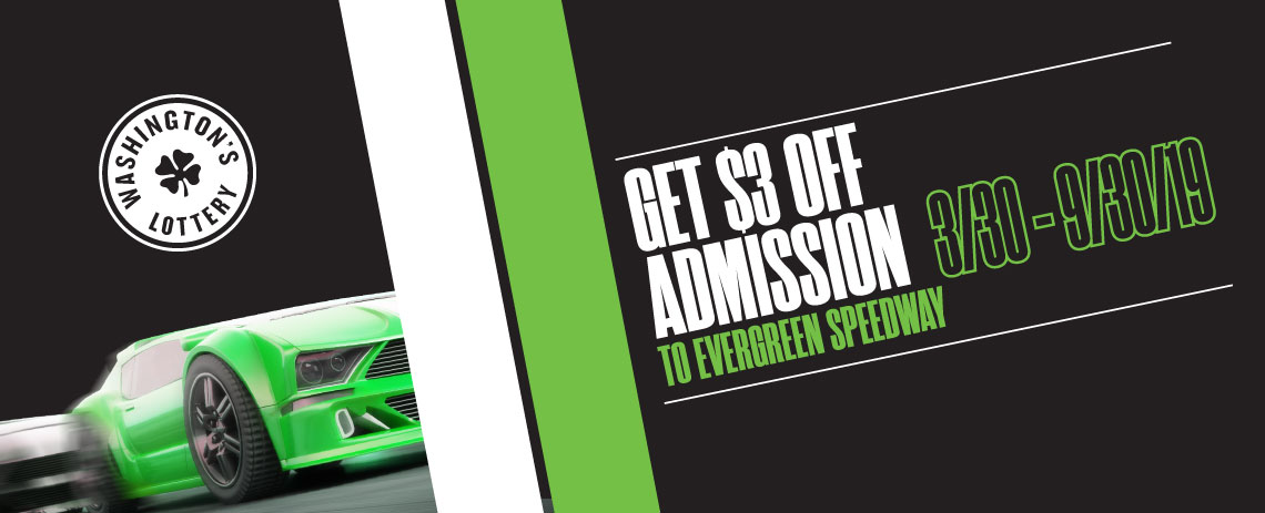 Get $3 off admission to Evergreen Speedway