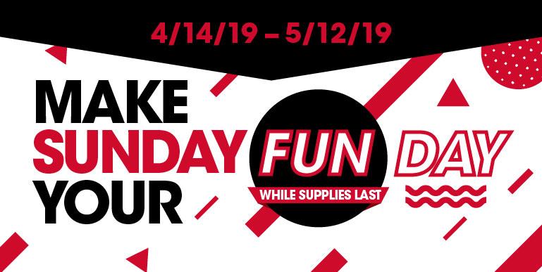 Make Sunday Your Fun Day