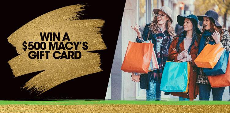 Win a $500 Macy's Gift Card