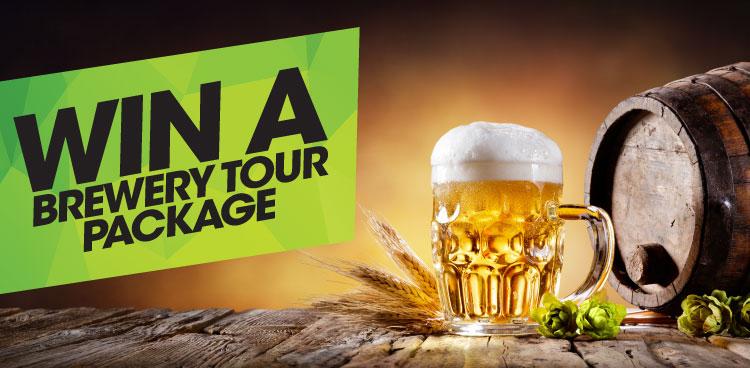 Win a Brewery Tour Package