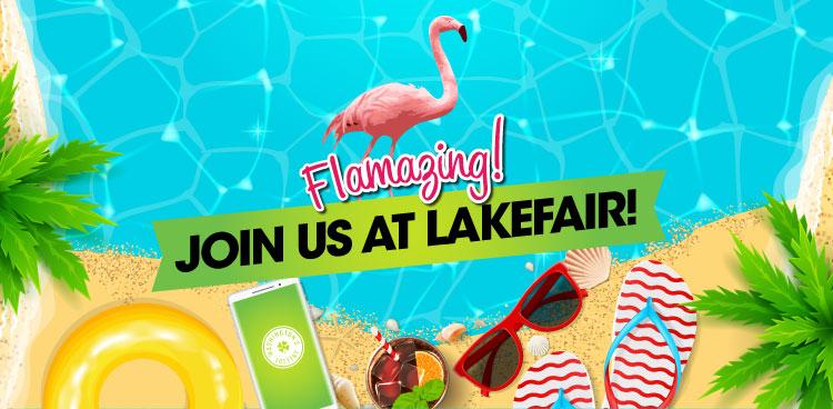 Flamazing, Join us at Lakefair!