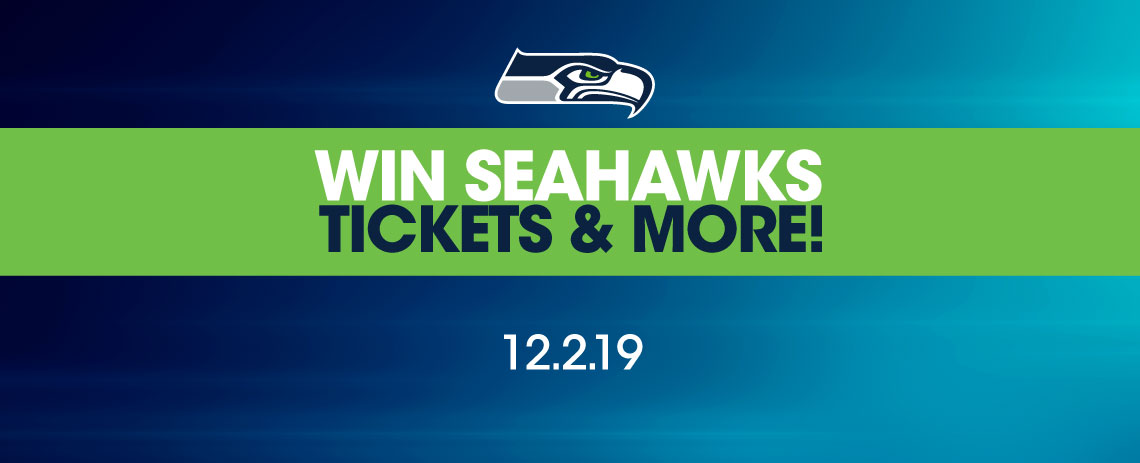 Win Seahawks Tickets & More!