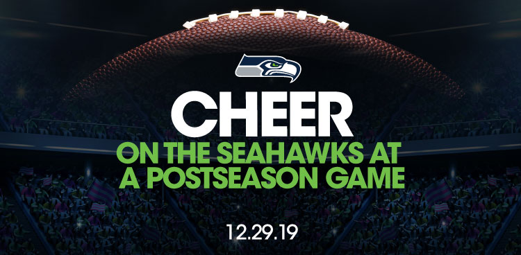 Cheer on the Seahawks at a Postseason Game