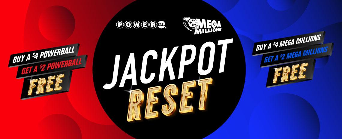 Powerball and Mega Millions Jackpot Reset