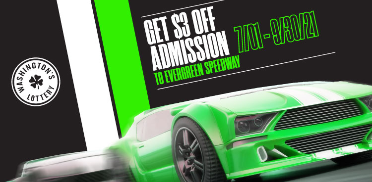 Get $3 Off Admission to an Evergreen Speedway Race