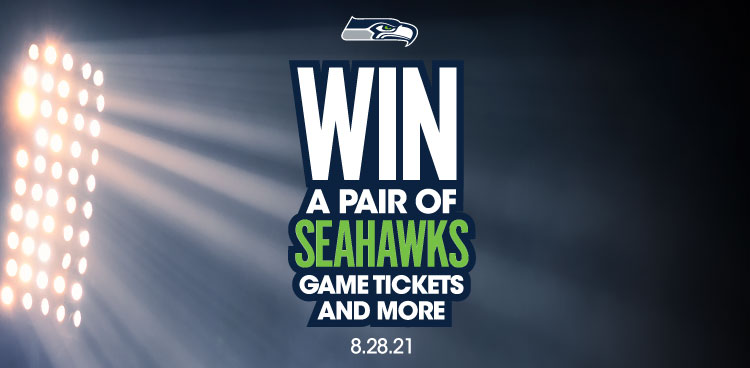 Win a pair of Seahawks game tickets & more