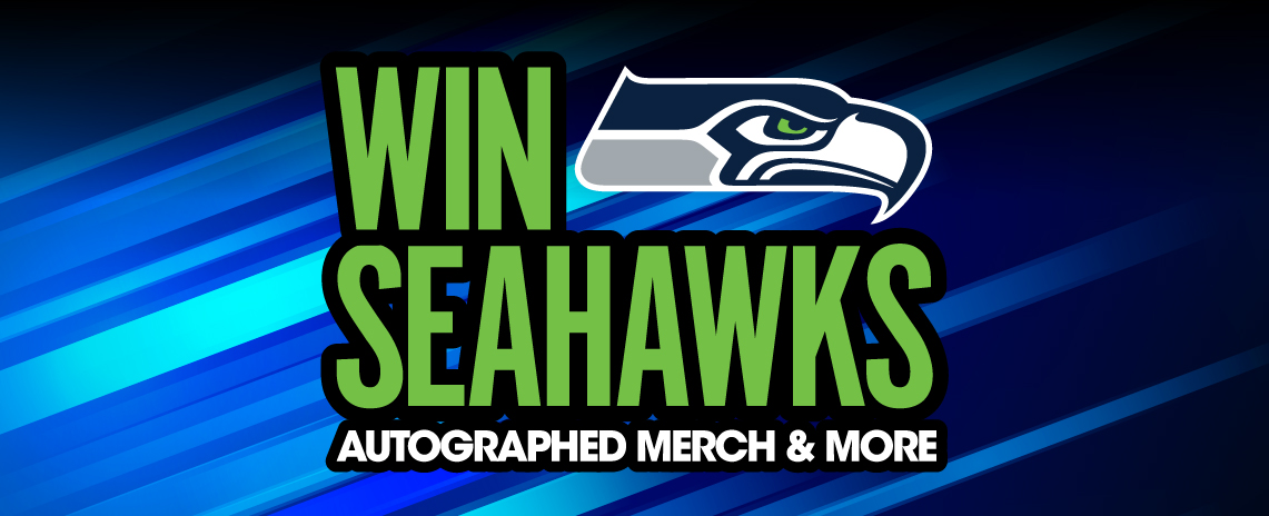 Win Seahawks Autographed Merch & More