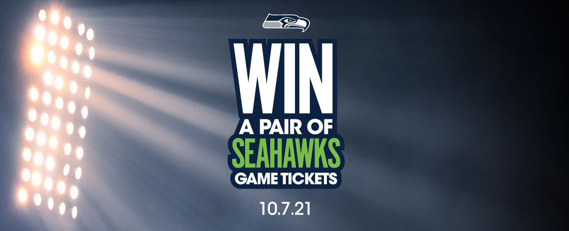 Win a Pair of Seahawks Game Tickets.