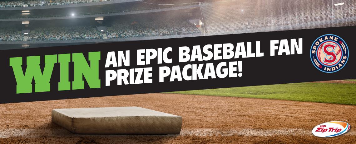 Epic Baseball Fan Prize Package
