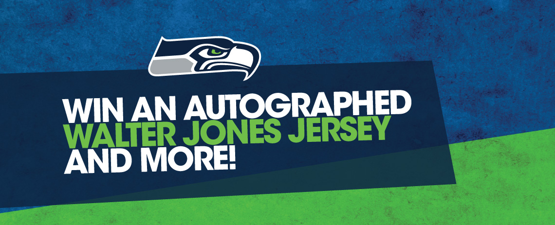 Autographed Walter Jones Jersey