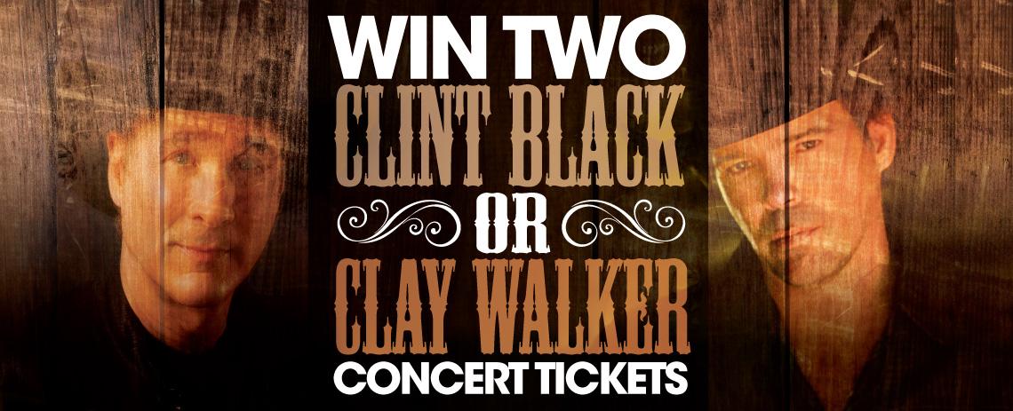 Clint Black or Clay Walker Tickets