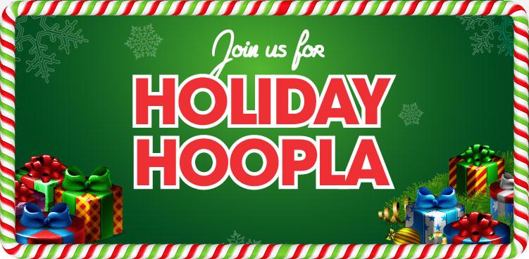 Holiday Hoopla at the Malls