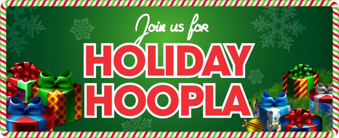 Holiday Hoopla at the Malls