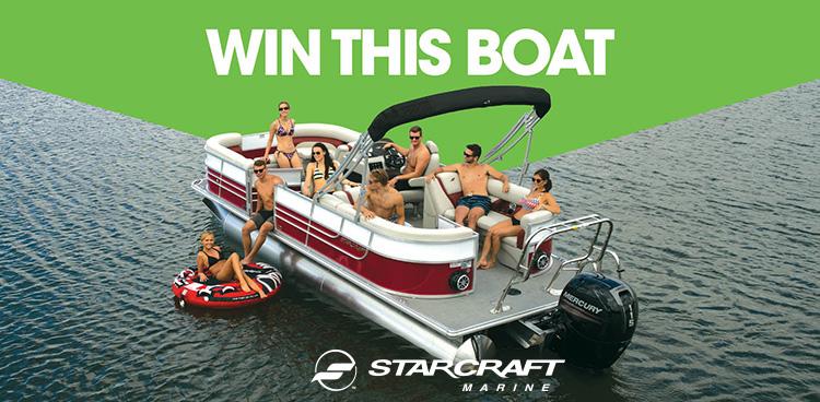 Seattle Boat Show - Starcraft Pontoon EX 23 R