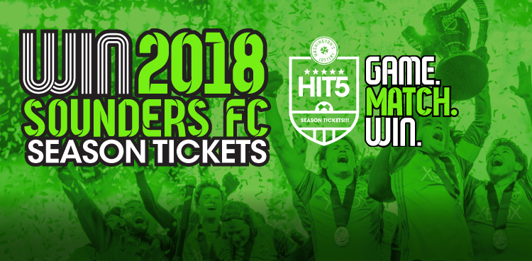 2018 Sounders FC Season Tickets