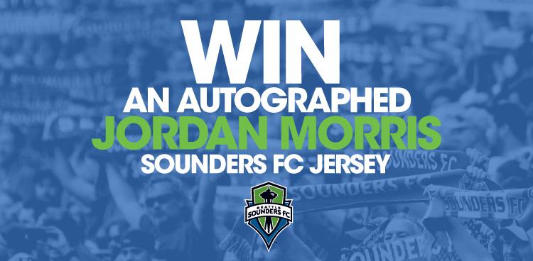 Autographed Jordan Morris Sounders FC Jersey