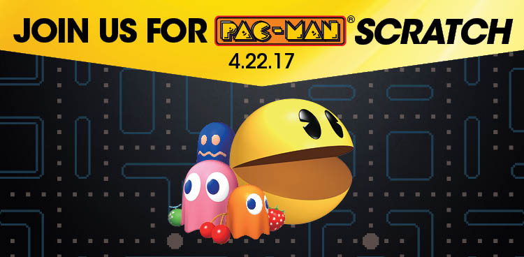 Join us for PAC-MAN <em>Scratch</em>