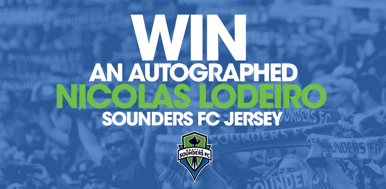 Autographed Nicolas Lodeiro Sounders FC Jersey