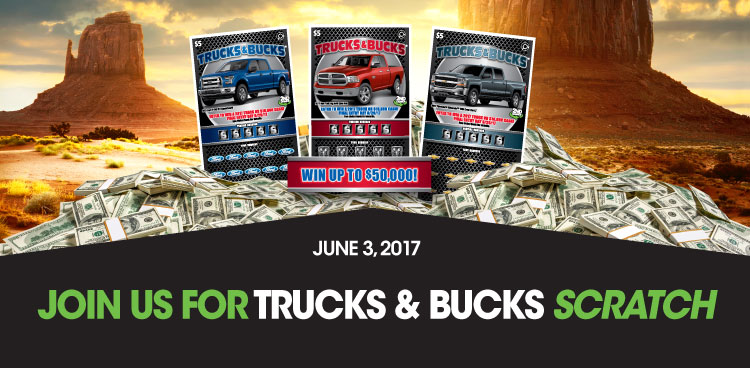 Join us for Trucks & Bucks Scratch
