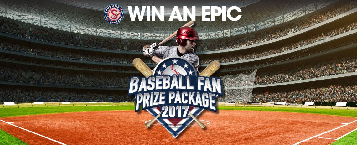 Win an Epic Baseball Fan Prize Package