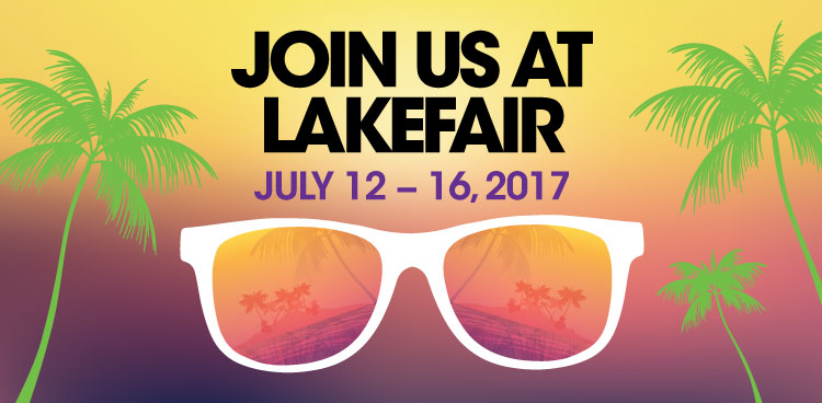 Join us at Lakefair