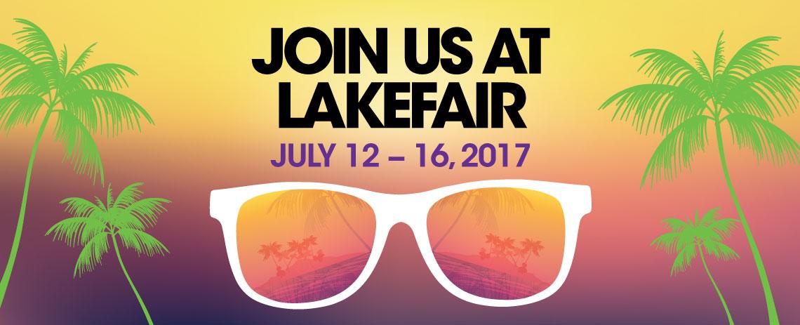 Join us at Lakefair