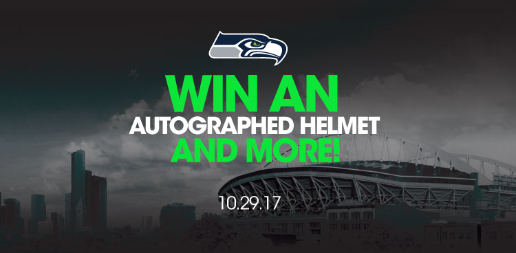 Win an autographed helmet and more