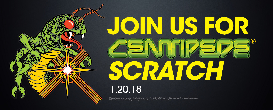 Join us for CENTIPEDE Scratch