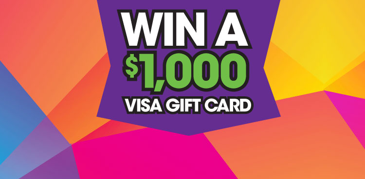 Taste of Tacoma - $1,000 Visa Gift Card
