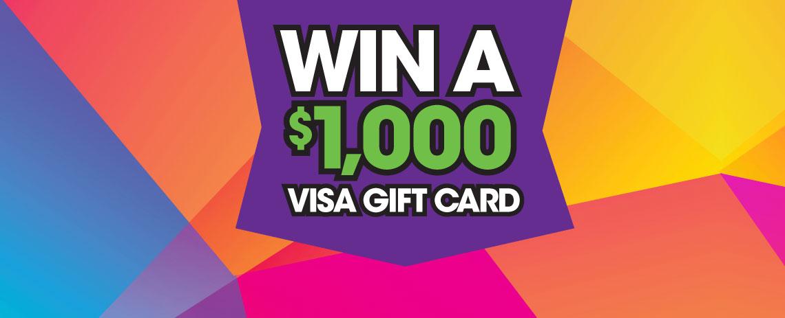 Taste of Tacoma - $1,000 Visa Gift Card