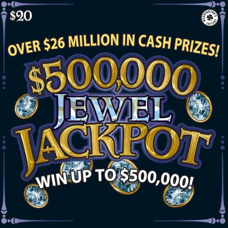 $500,000 JEWEL JACKPOT
