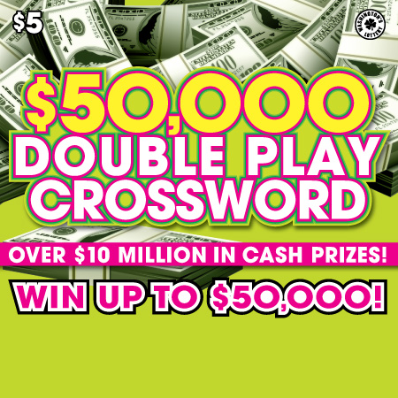 $50,000 DOUBLE PLAY CROSSWORD