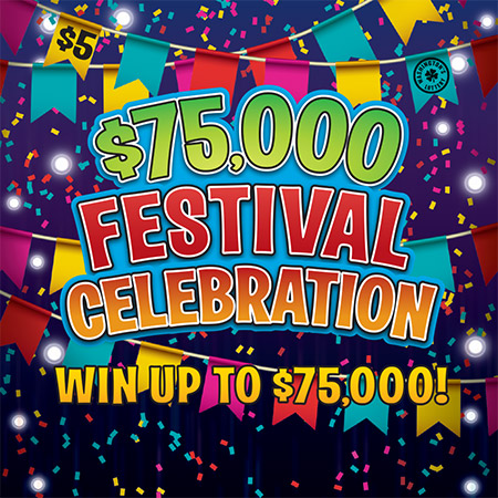 $75,000 FESTIVAL CELEBRATION