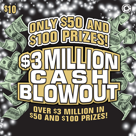 $3 MILLION CASH BLOWOUT