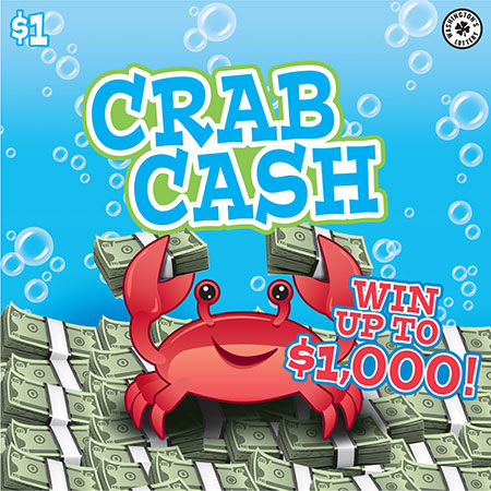 Washingtons lottery scratch top prizes remaining crab cash sciox Image collections