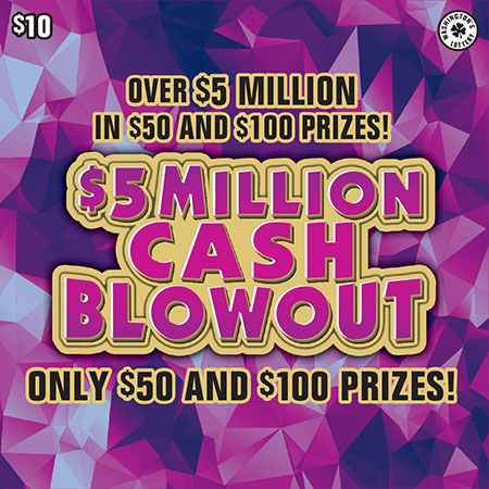 $5 MILLION CASH BLOWOUT