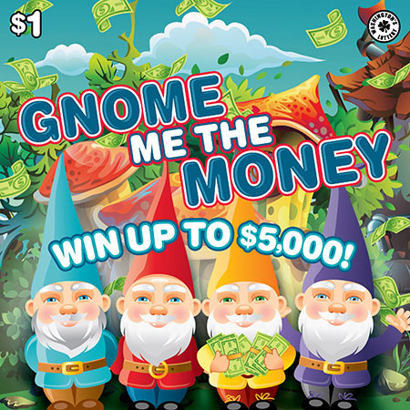 GNOME ME THE MONEY