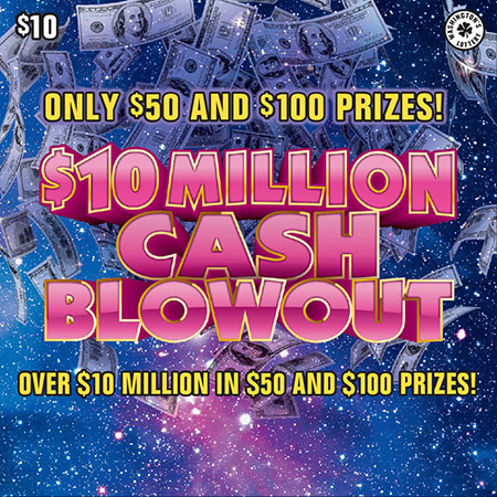$10 MILLION CASH BLOWOUT