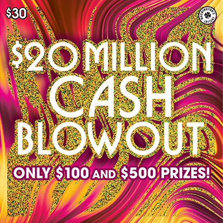$20 MILLION CASH BLOWOUT