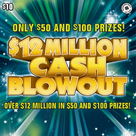 $12 MILLION CASH BLOWOUT
