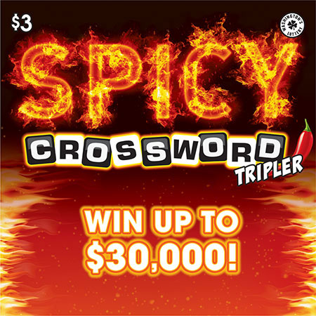SPICY CROSSWORD TRIPLER