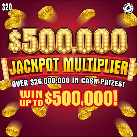 $500,000 JACKPOT MULTIPLIER