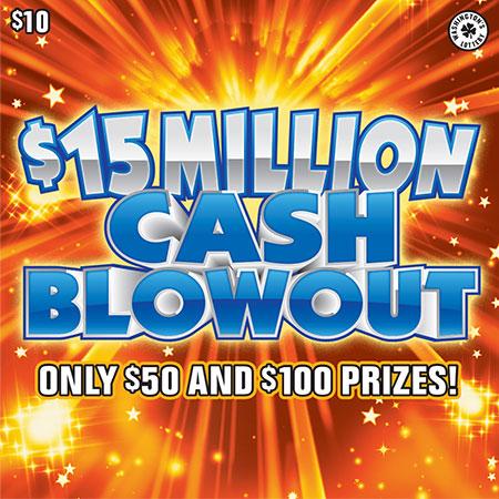 $15 MILLION CASH BLOWOUT