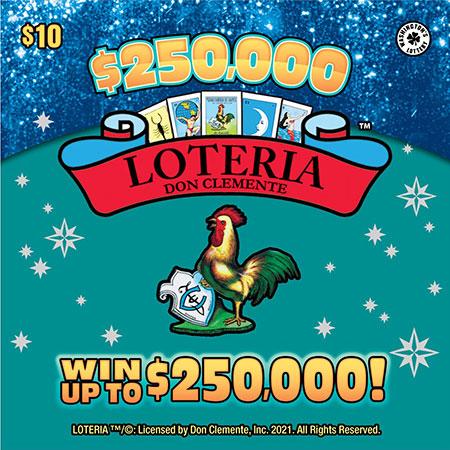 $250,000 LOTERIA